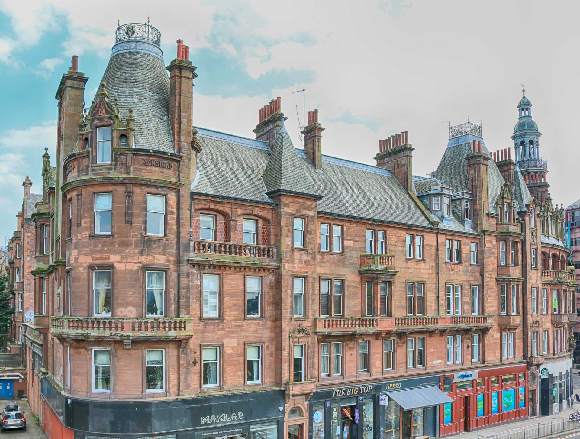 Where To Stay In Glasgow Scotland For First Time
