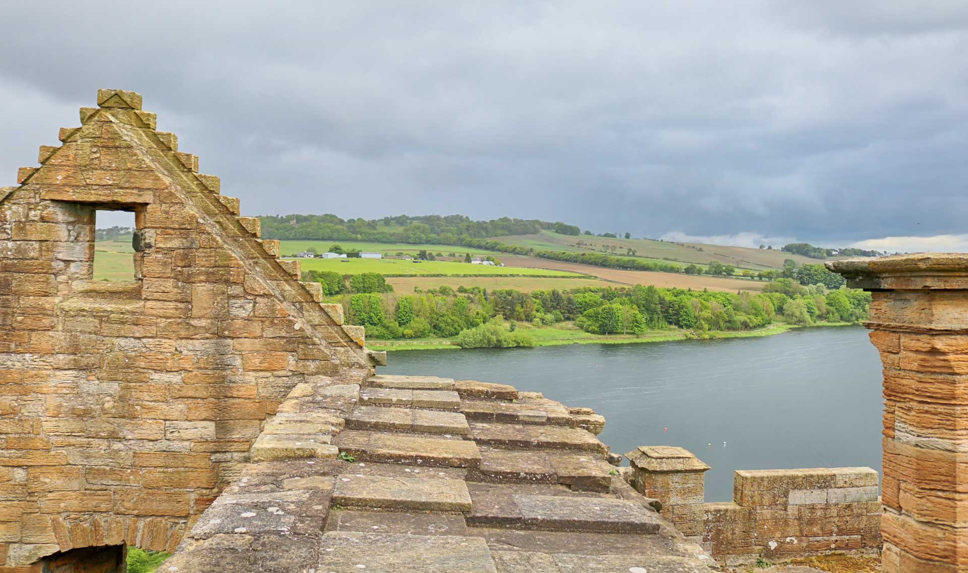 View from the Linlithgow Palace